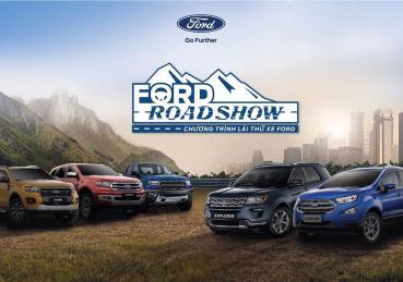 Ford khởI động chương trình láI thử xe – Ford Roadshow 2019