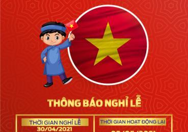SÀI GÒN FORD THÔNG BÁO LỊCH LỄ 30/04 & 01/05