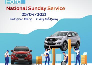 SUNDAY SERVICE THÁNG 04 CÙNG SÀI GÒN FORD
